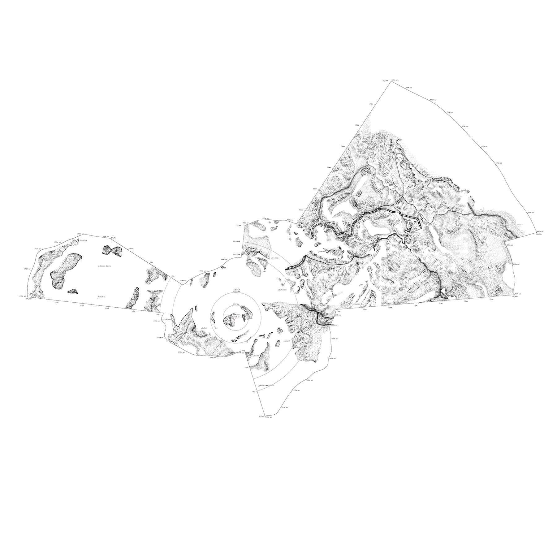 055 Ten Republic Motovun Topography Students Mia Kos And Elena Tikvic Drawing Workshop 2015
