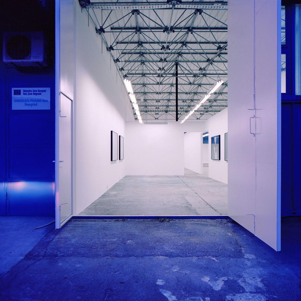 038 Ten Lager Eugster Belgrade Gallery Entrance